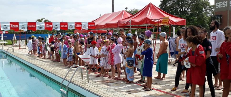 SESI Osasco realiza 1º Festival Natação do Programa Atleta do Futuro