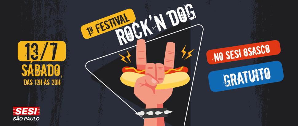 SESI Osasco realiza 1º FESTIVAL ROCK'N DOG