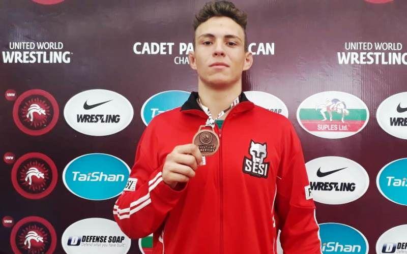 Gabriel Silva leva Bronze no Pan-Americano Cadete de Wrestling 2019 - México