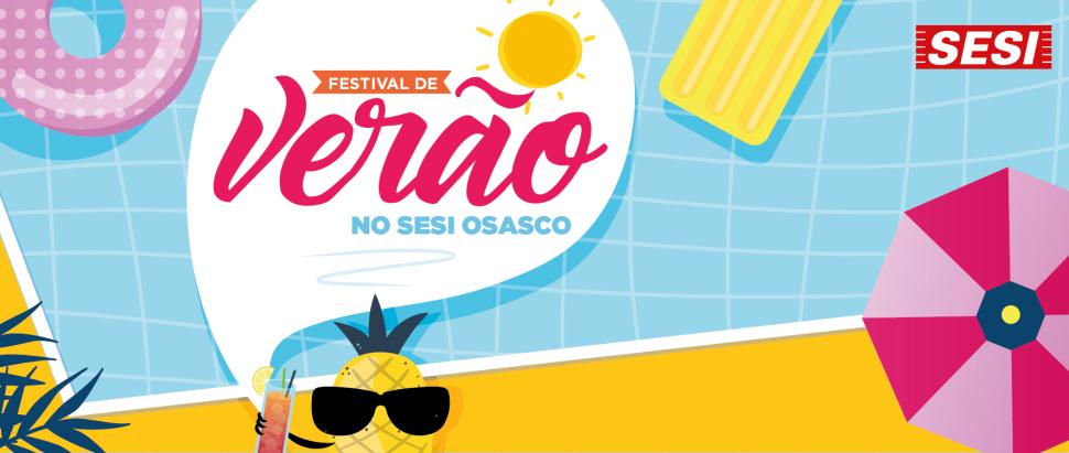 Festival de Verão no SESI!