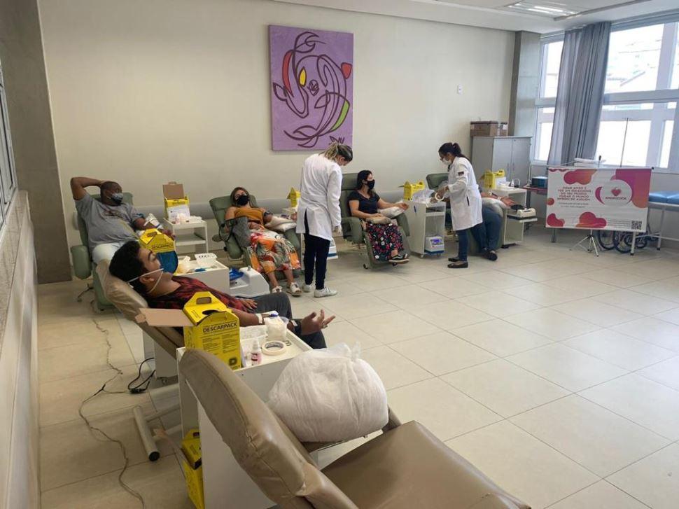 Escola SESI Jandira promove 1ª campanha de doação de sangue