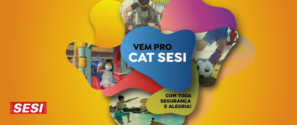 SESI COTIA RETORNA COM AS ATIVIDADES SEM AGENDAMENTO A PARTIR DESSA TERÇA (17/8)