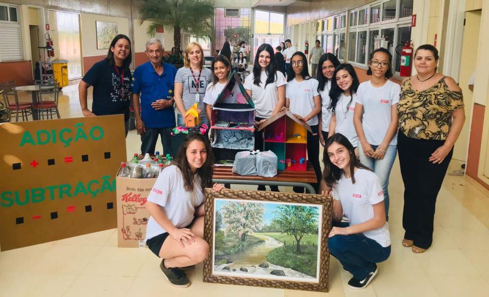 Apresentações Eixo Integrador SESI Santa Cruz do Rio Pardo