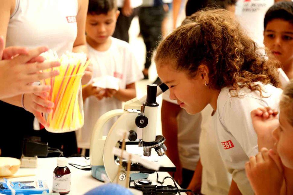 Feira de Ciências é realizada na escola SESI Presidente Epitácio