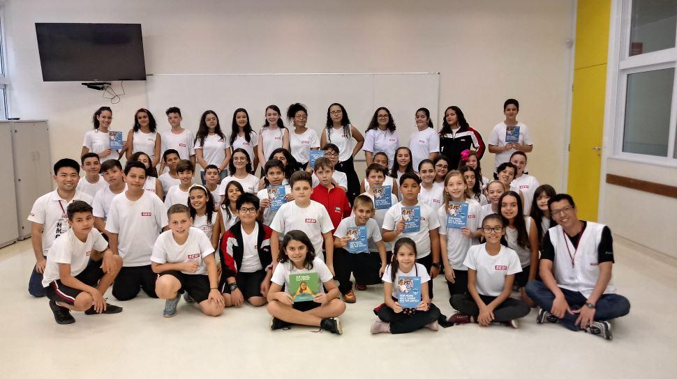 Escola SESI de Presidente Prudente conquista 1º lugar em Concurso Cultural