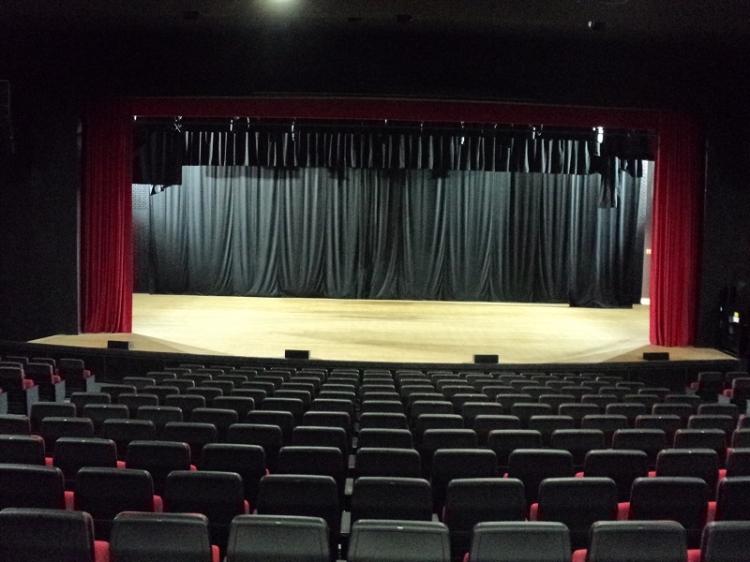 Vista frontal palco