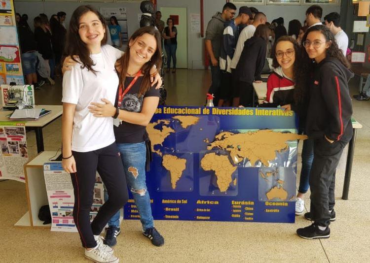 Mapa alunos Raquel