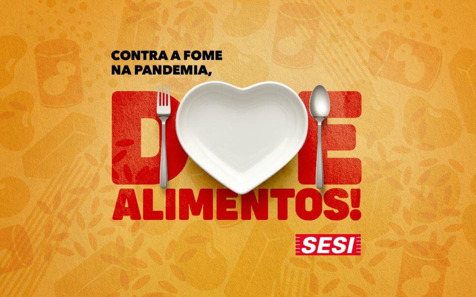 Fiesp e Sesi-SP lançam campanha de arrecadação de alimentos