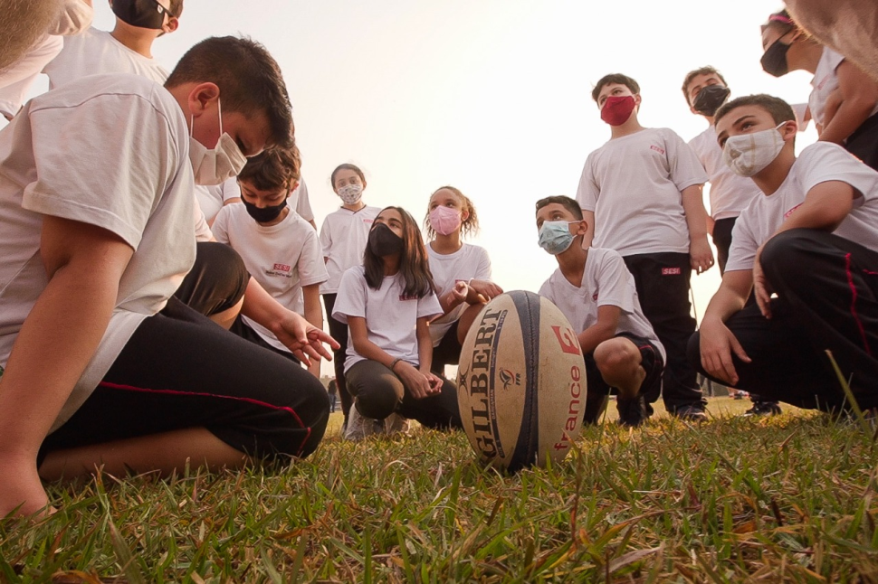 Sesi-SP inaugura atividades de rugby para crianças e adolescentes em Campinas