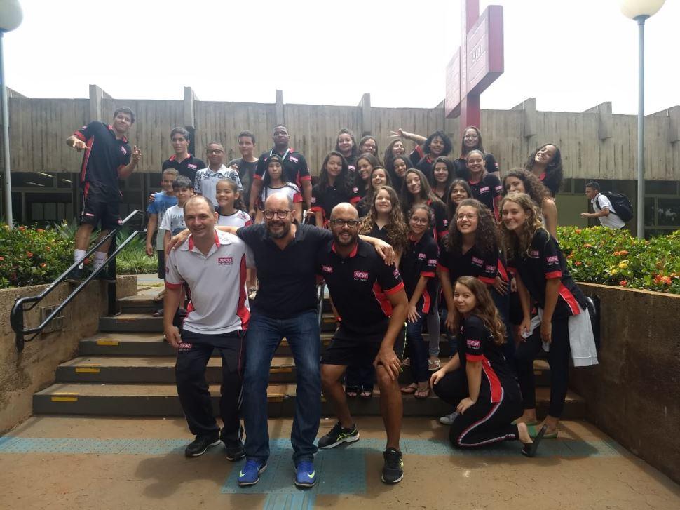 SESI Ribeirão Preto participa da Final Estadual da Liga SESI de Treinamento Esportivo 2018