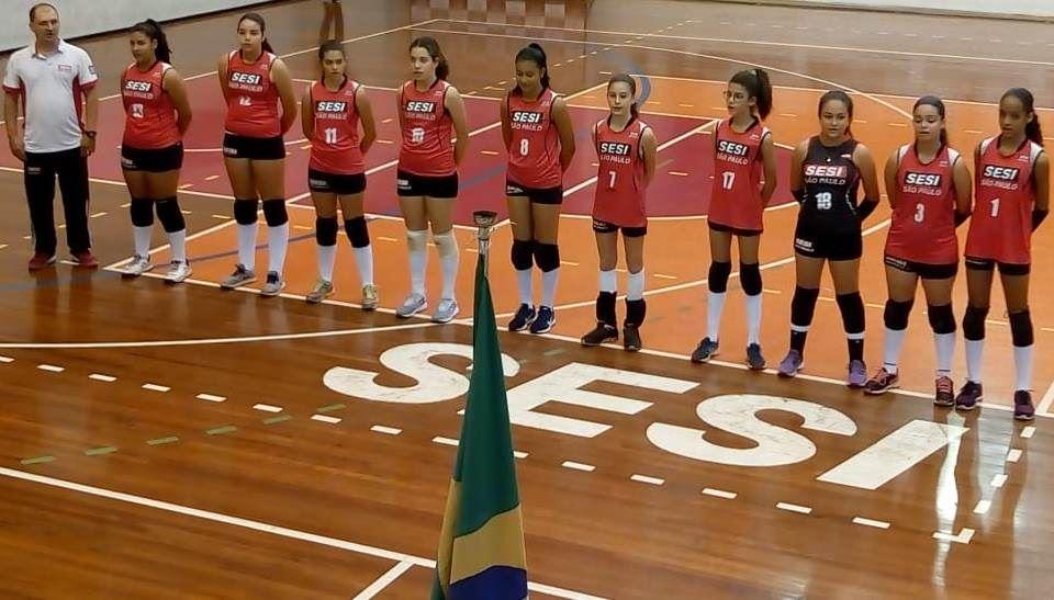Voleibol do SESI Ribeirão Preto se destaca no campeonato preparatório para a Liga SESI Treinamento Esportivo 2019