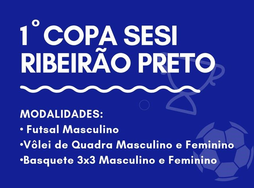 1ª COPA SESI RIBEIRÃO PRETO