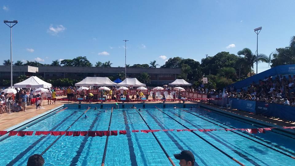Evento de Natação acontece no próximo sábado no SESI Rio Claro