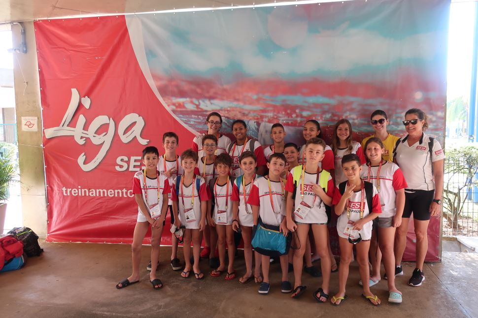 SESI Rio Claro sedia 5º etapa da Liga SESI de Natação