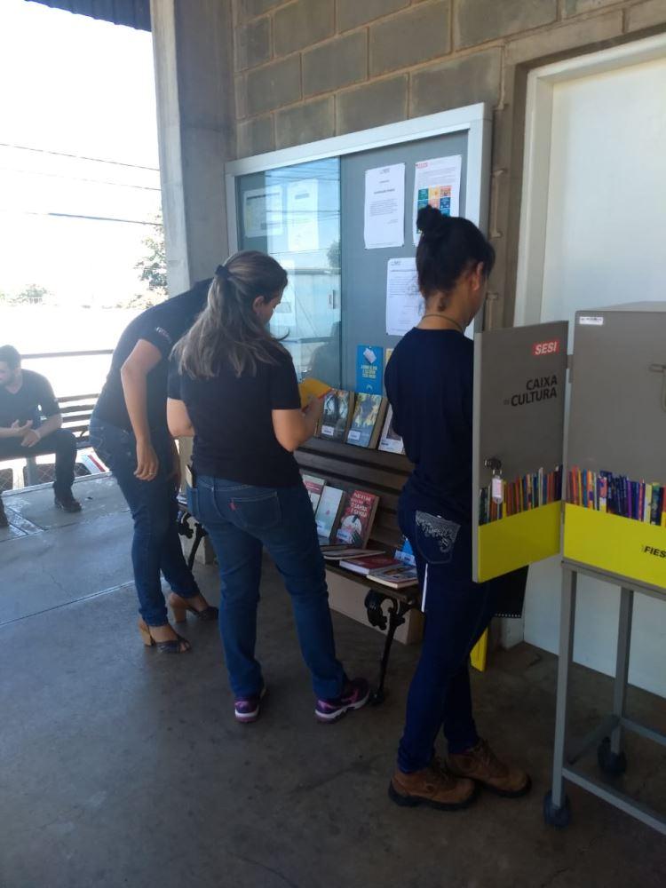 Mediação de leitura e exposição na Texfyt