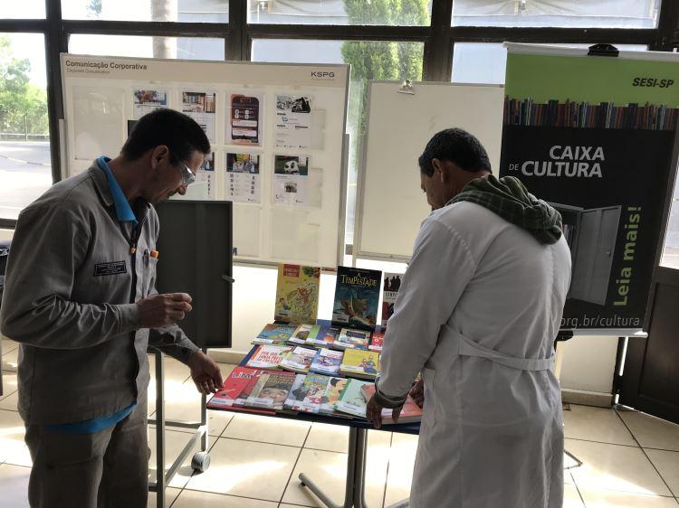 Mediação de leitura e exposição na KSPG
