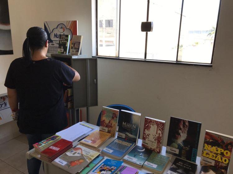 Mediação de leitura e exposição na Mondialle