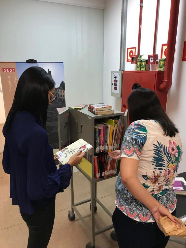 Mediação de leitura e exposição na AEGEA