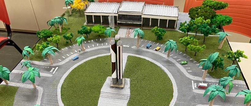 Exposição apresenta maquetes de monumentos de Nova Odessa