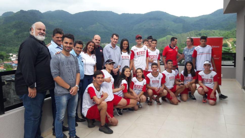SESI-SP renova convênio do Programa Atleta do Futuro nas cidades de Registro e Miracatu