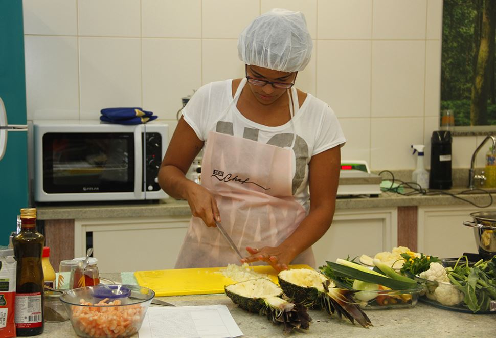 Unidades São Bernardo e São Caetano realizam 1ª Fase do SESI Chef