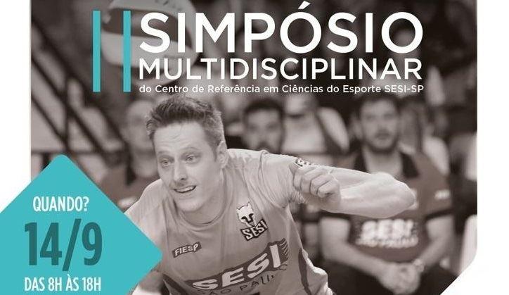 II Simpósio Multidisciplinar no SESI Vila Leopoldina