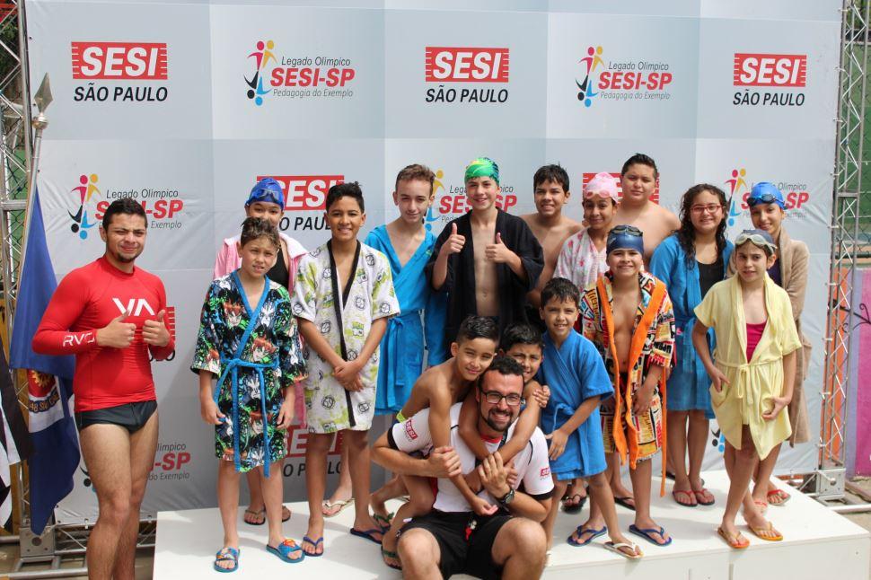 2º Festival de Natação do Programa Atleta do Futuro (PAF)