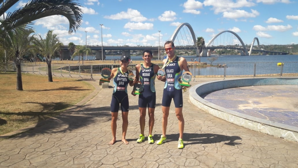 Atletas do SESI-SP disputarão o Pan-Americano de Triathlon da ITU No México