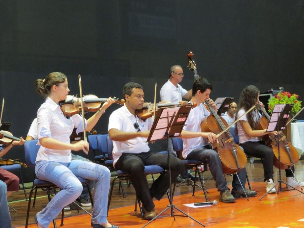 Alunos do Núcleo de Música SESI-SP participam da Orquestra Experimental da UFSCar