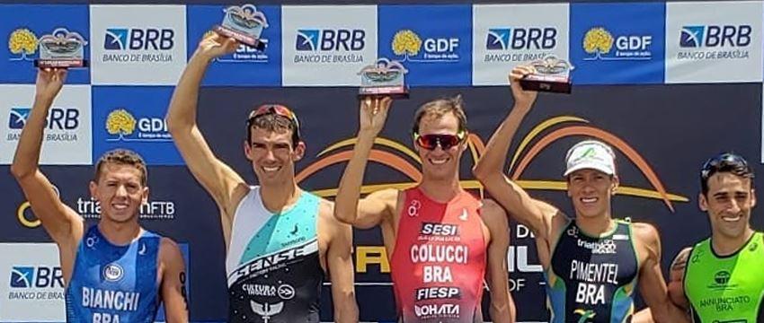 Reinaldo Colucci conquista o 1º Lugar no Campeonato Brasileiro de Triathlon 2019