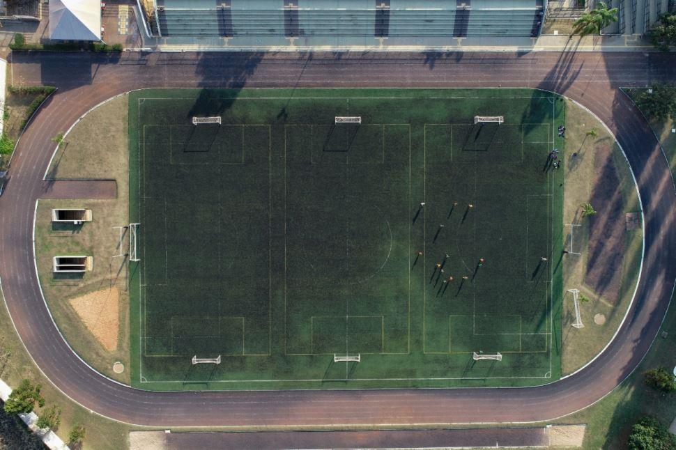 Pista de Atletismo e Campo - Sesi São Carlos
