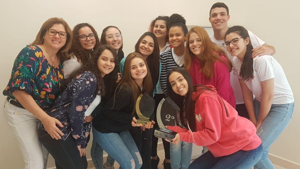 Alunos da escola SESI-SP Yolanda Bassitt são premiados do Festival Teatrânsito