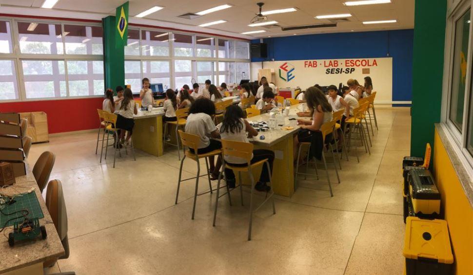 Férias Maker é no FAB LAB do SESI São José do Rio Preto