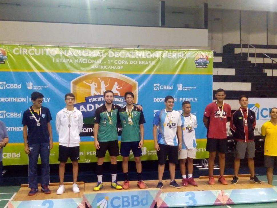 Atletas do SESI-SP de Presidente Prudente e São José do Rio Preto conquistam medalha de bronze em campeonato nacional