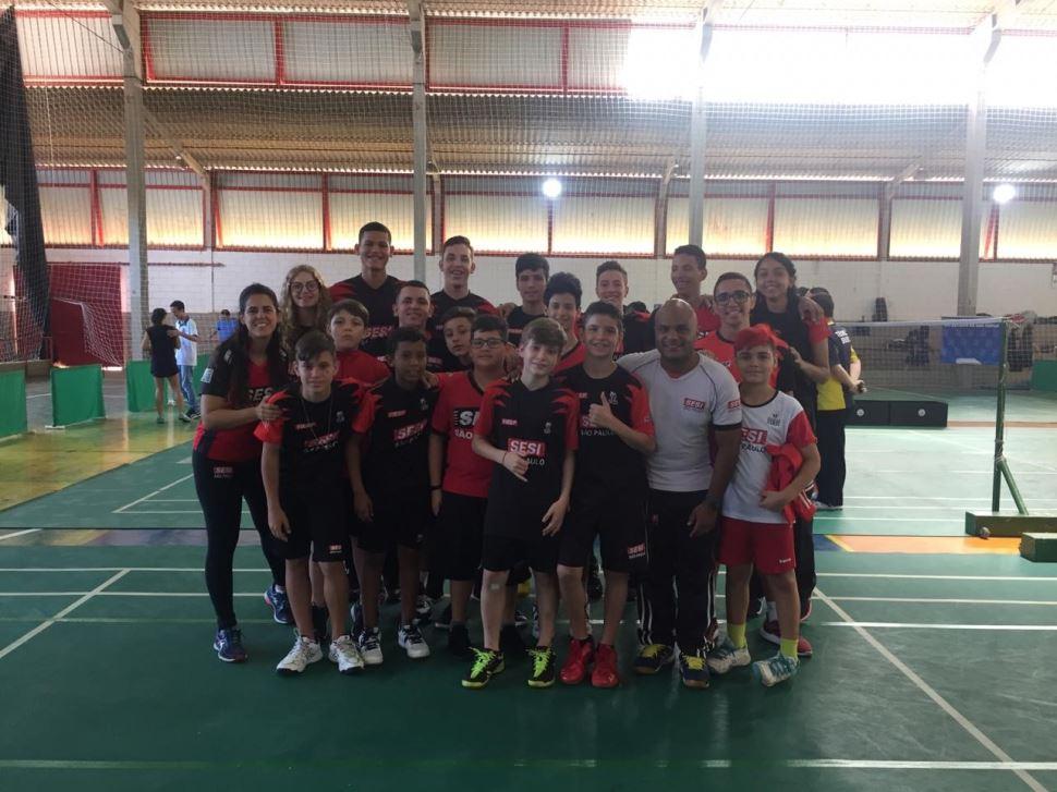 Atletas de Badminton do SESI São José do Rio Preto conquistam importantes vitórias em campeonato estadual e nacional