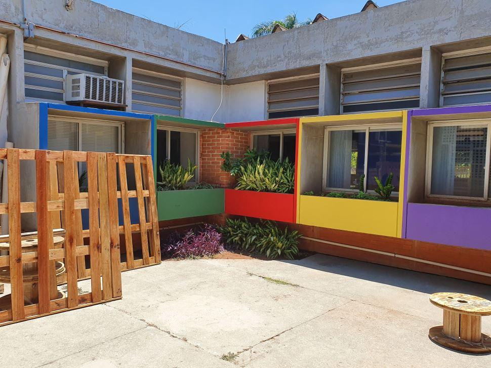 Jardim sensorial é criado em escola do SESI São José do Rio Preto