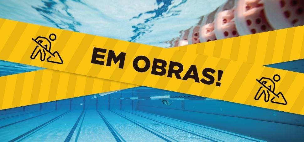 O balneário do SESI Rio Preto está em obras
