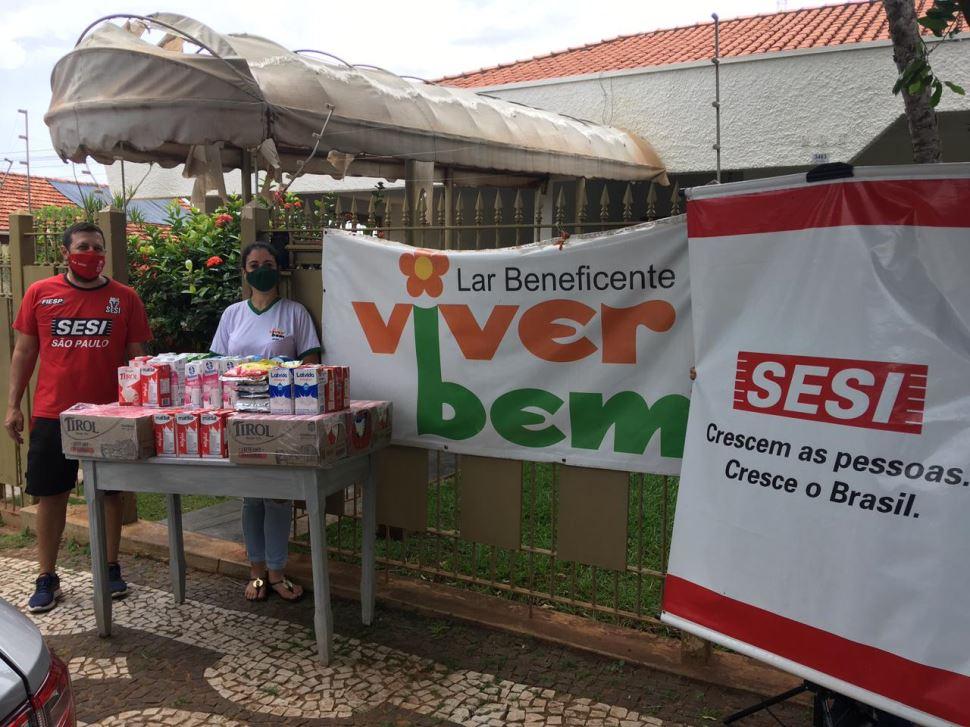 Escola SESI de Votuporanga participa de projeto que alia esporte e solidariedade