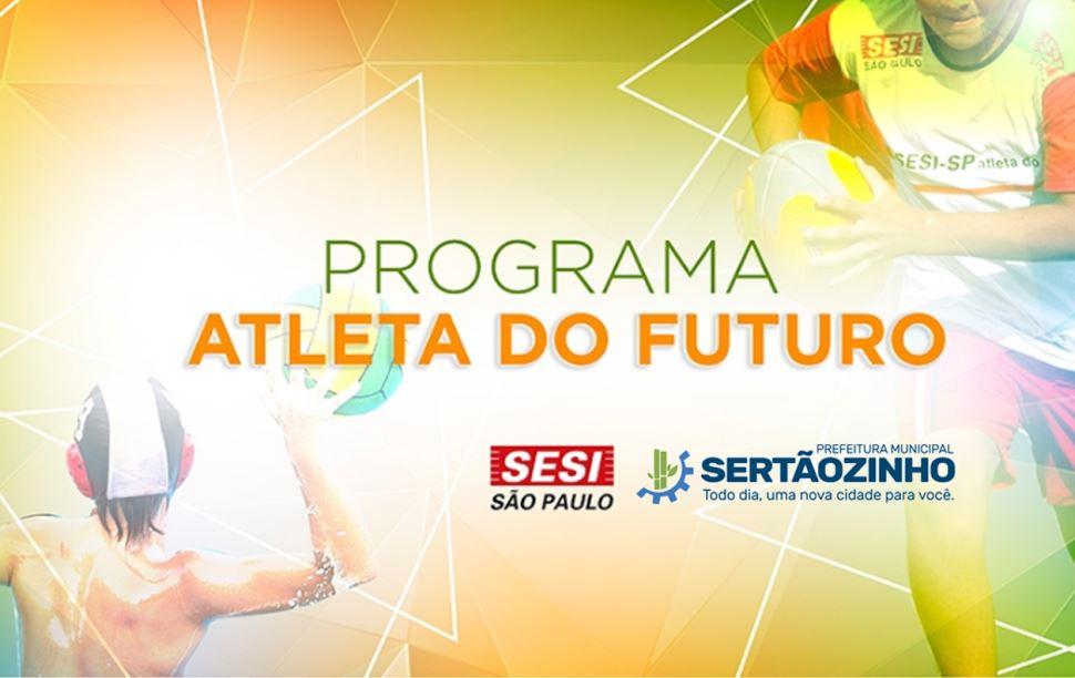 VAGAS REMANESCENTES PROGRAMA ATLETA DO FUTURO SERTÃOZINHO AGOSTO