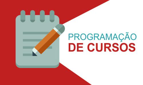 Programação de cursos