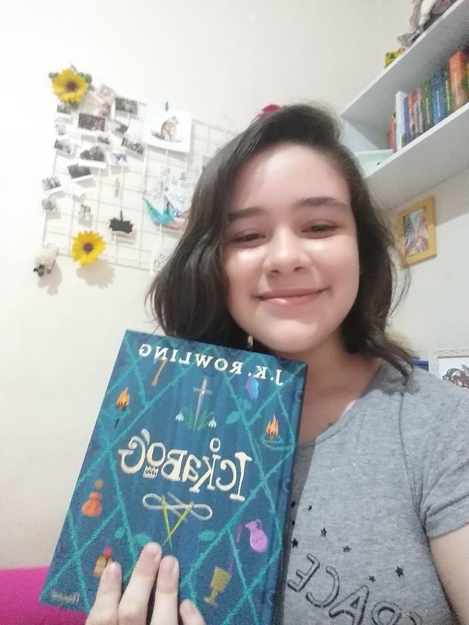 Aluna do SESI Sorocaba ilustra livro da autora de Harry Potter
