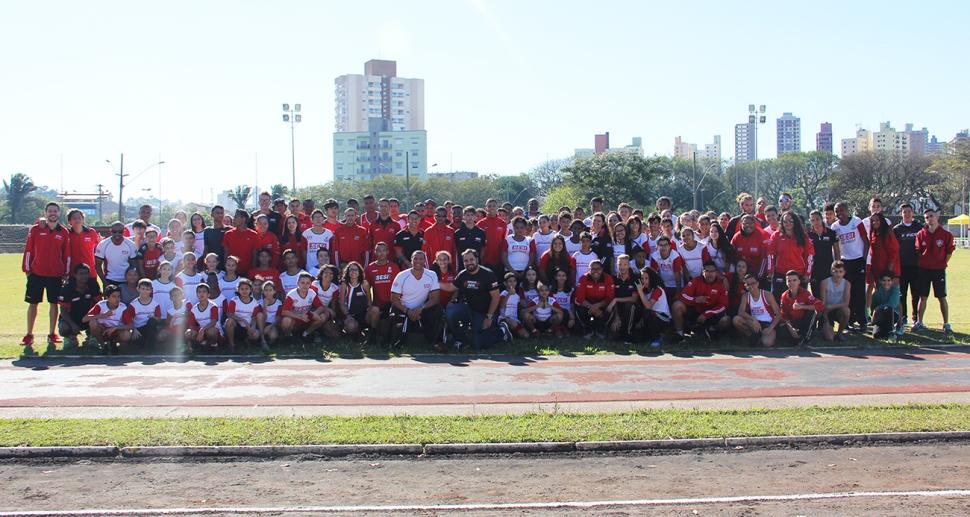 Primeira Etapa da Liga SESI-SP de Treinamento Esportivo de Atletismo recebeu mais de 130 atletas no SESI Santo André
