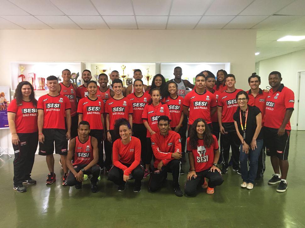 De olho nos Jogos Olímpicos de Tóquio e principais competições do calendário, atletismo do Sesi-SP inicia nova temporada
