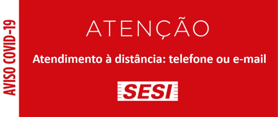 Atendimento à distância: telefone ou e-mail