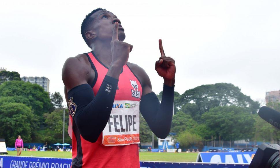 Com vitória emocionante, Felipe Bardi vence nos 100 metros do GP Brasil de Atletismo