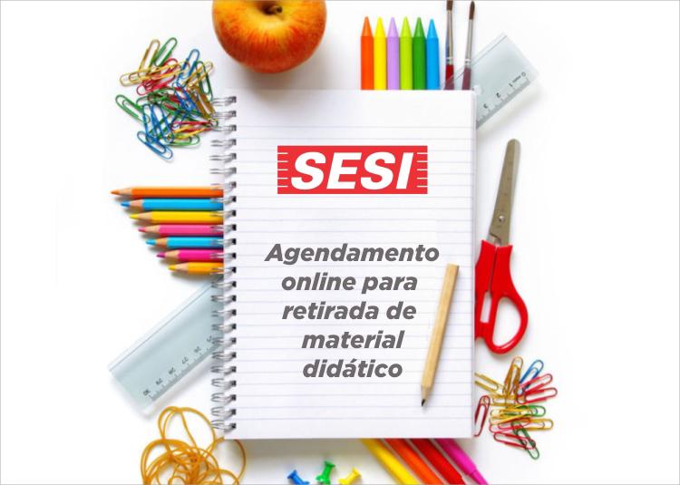 Escola SESI Santo André - Santa Terezinha: Agende aqui a retirada do material didático