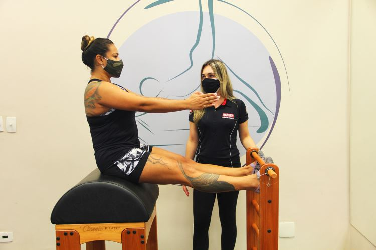Estúdio de Pilates no Sesi Santo André