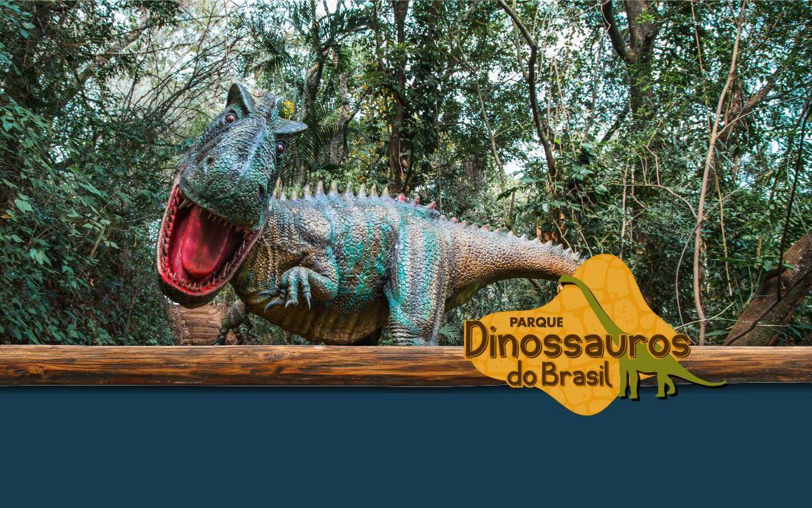Mês das Crianças é no Parque dos Dinossauros do Brasil