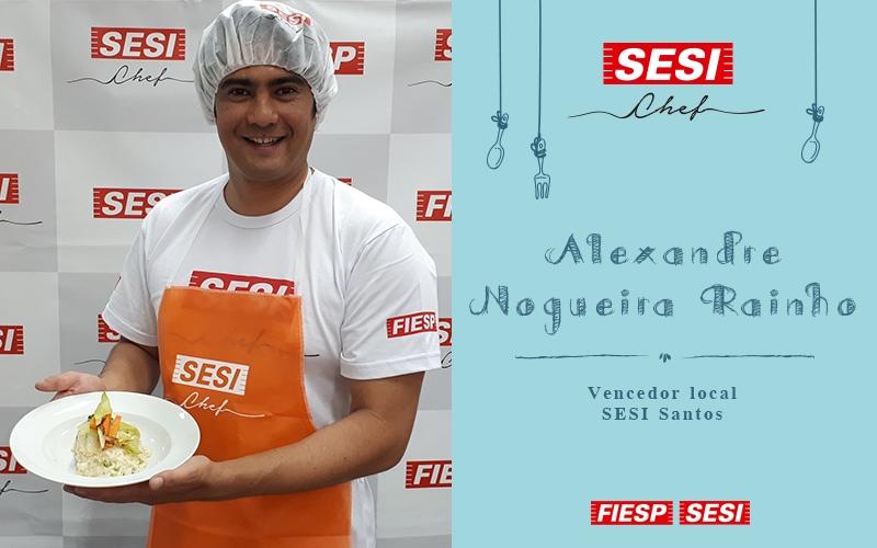 Santos sedia a segunda fase do concurso de culinária SESI Chef