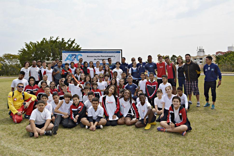 Pedagogia do exemplo com os atletas da Associação Paralímpica de Campinas